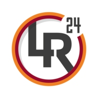 Logo of the podcast LAROMA24.IT