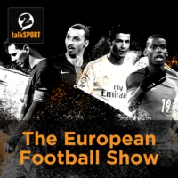 Logo of the podcast European Football Show Podcast on talkSPORT 2, January 12, 2018