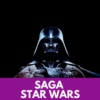 Logo of the podcast SAGA STAR WARS | CinéMaRadio