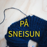 Logo of the podcast På Sneisun - en podcast om strikking
