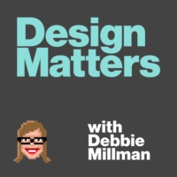 Logo of the podcast Design Matters From the Archive: Louise Fili