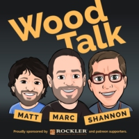 Logo of the podcast Wood Talk