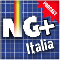 Logo of the podcast NG+ITALIA videogiochi