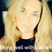 Logo of the podcast Episode 156 Being well with Lauren