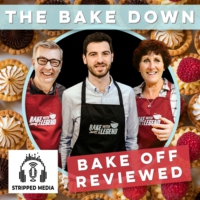 Logo of the podcast The Bake Down - Bake Off Reviewed