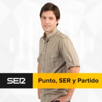 Logo of the podcast Punto, SER y Partido