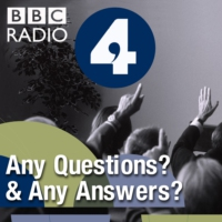 Logo of the podcast AQ: Gisela Stuart MP, John Redwood MP, Caroline Lucas MP and Lord Peter Hennessy