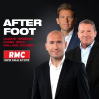 Logo of the podcast RMC - L'After foot