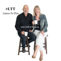Logo of the podcast LTT – Listen To This with Cliff & Sharon - the other side of the news