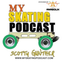 Logo of the podcast My Skating Podcast