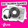 Logo of the podcast 1LIVE Die tauben DJanes