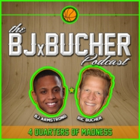 Logo of the podcast 27: Warriors Center Zaza Pachulia Joins BJ & Bucher