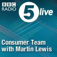 Logo of the podcast 5 live Consumer Team with Martin Lewis