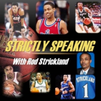 Logo of the podcast Strictly Speaking with Rod Strickland