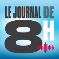 Logo of the podcast Le Journal de 8h - Présenté par Coraline Pauchard - 09.01.2018