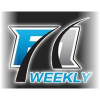 Logo of the podcast F1Weekly podcast # 718