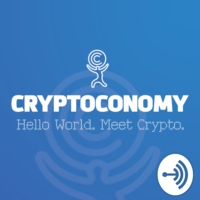 Logo of the podcast Cryptoconomy: Hello World. Meet Crypto.