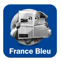 Logo of the podcast L'invité de 8h12 de Bleu Poitou