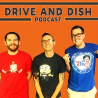 Logo of the podcast Drive and Dish NBA: New Year Who Dis, West coast NBA Resolutions.