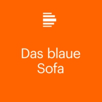 "Logo of the podcast Das Blaue Sofa: Angela Krauß ""Der Strom"""