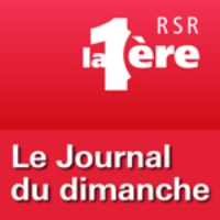 Logo of the podcast RSR - Le Journal du dimanche - La 1ère