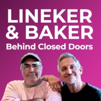 Logo of the podcast Lineker & Baker: Behind Closed Doors