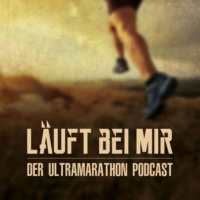 Logo of the podcast LÄUFT BEI MIR - Der Ultramarathon Podcast