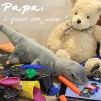 Logo du podcast Papa, à quoi on joue ?