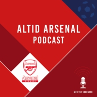 Logo du podcast En Arsenal evergreen mod Everton, top 4-muligheder og Wengers post Arsenal-tid