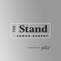 Logo of the podcast The Stand with Eamon Dunphy