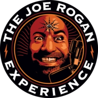Logo of the podcast JRE MMA Show #77 with Cedric Doumbe