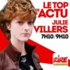 Logo of the podcast Julie Villers - Le top de l'actu sur Rire & Chansons