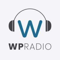 Logo of the podcast WordPress Radio