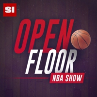 Logo of the podcast NBA hot seat watch with Danny Leroux