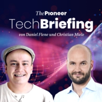 Logo of the podcast Tech Briefing Trailer