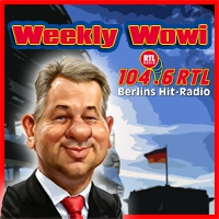 Logo of the podcast 104.6 RTL - Der Weekly Wowi