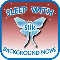 Logo of the podcast Sleep with Silk: Background Noise (to help insomnia, anxiety, stress, relax, focus, meditate, ASMR)