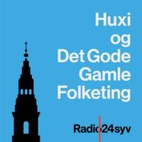 Logo du podcast Huxi og det Gode Gamle Folketing