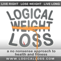 Logo of the podcast Logical Weight Loss Podcast