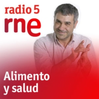 Logo of the podcast Alimento y salud - Comer en el trabajo y Sacha - 28/02/16
