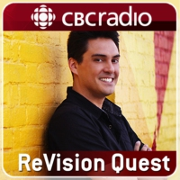 Logo of the podcast ReVision Quest looks at Bering Strait-PODCAST