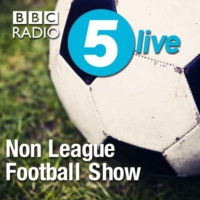 Logo of the podcast Non League United behind Worthing