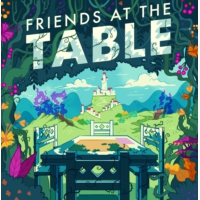 Logo of the podcast Friends at the Table @ Gen Con this week!!