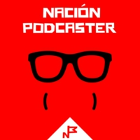 Logo of the podcast Nación Podcaster 102 Redes de podcast Emilcar FM y presentacion Podium Podcast