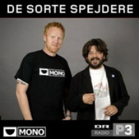 Logo of the podcast De sorte spejdere