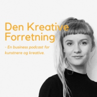 Logo du podcast 57 - Fundraising for kunstnere og kreative
