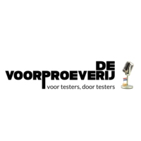 Logo of the podcast De Voorproeverij