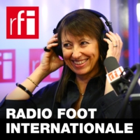 Logo of the podcast RFI - Radio foot internationale