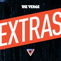 Logo of the podcast The Verge at the 2015 Sundance Film Festival