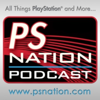 Logo of the podcast PS Nation-E3 2018-Day 5